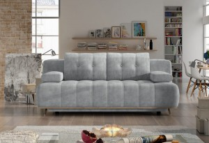 Szara Sofa HONEY