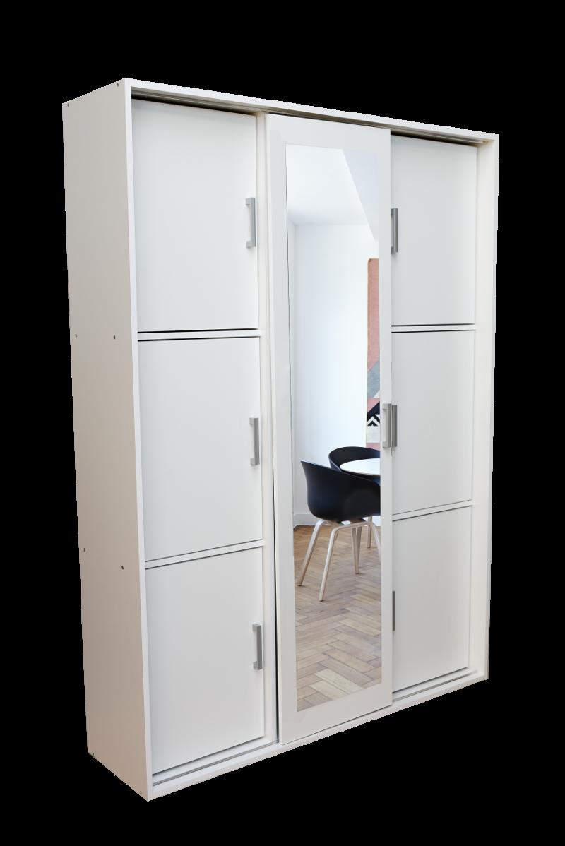 Szafa Garderoba Z Półkami Slim 150cm