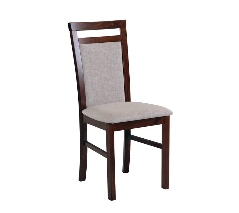 Krzesło do kuchni i jadalni tapicerowane drewniane MILENO 5